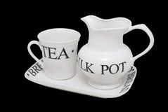 установите чай Стоковое фото RF