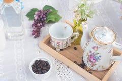 установите чай Стоковые Фотографии RF