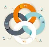Установите элементы infographics Стоковая Фотография RF