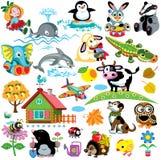 Установите для детей иллюстрация вектора
