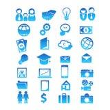 Установите для дизайна 28 значков Стоковое Фото