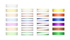 Установите для дизайна Стоковое Изображение RF