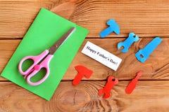 Установите для handmade поздравительной открытки Стоковые Изображения