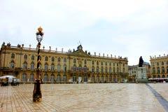 Установите stanislas на Нанси Франции стоковые изображения