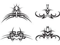установите tattoo соплеменной Стоковые Фотографии RF