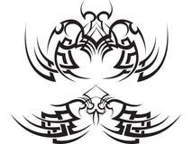 установите tattoo соплеменной Стоковые Фото