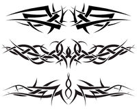 установите tattoos Стоковые Фото