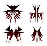 установите tribals символа Иллюстрация штока