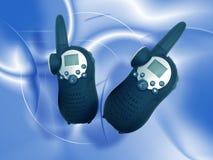 установите walkie talkie Стоковая Фотография RF