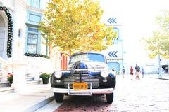 Установка винтажного автомобиля Шевроле классическая Стоковое фото RF