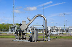 Установка газа стоковое изображение rf