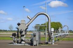 Установка газа стоковая фотография rf