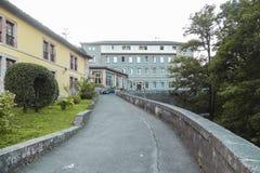 Установка гостиницы расположенная рядом с пещерой Santina в Covado Стоковые Фотографии RF