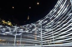 Установка искусства в квадрат Мельбурн федерации Стоковая Фотография RF