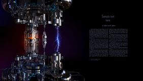 Установка концепции технологии высокотехнологичная иллюстрация 3d иллюстрация вектора