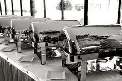 установка обеда шведского стола Стоковые Фотографии RF