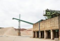 Установка обрабатывать руды стоковая фотография rf