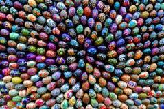 Установка пасхи (группа в составе пасхальные яйца 3) Стоковое Изображение RF