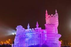 Установка рождества в Москву - Россию Стоковое Изображение RF