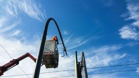 Установка светофора Стоковая Фотография RF