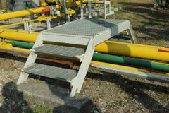 Установка трубы моста Стоковая Фотография
