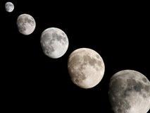 Установка луны Стоковые Фотографии RF