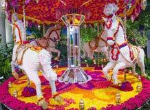 Установка цветка гостиницы Лас-Вегас Wynn Стоковые Изображения RF