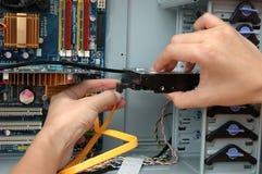 установка harddisk Стоковое фото RF