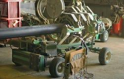Установка HDPE трубы Стоковое Изображение RF