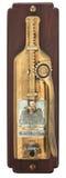 установленное бутылкой вино стены консервооткрывателя Стоковые Фото