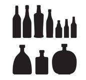 установленные бутылки Стоковые Изображения RF