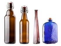 установленные бутылки Стоковые Фотографии RF