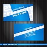 установленные визитные карточки Стоковые Фото