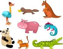 Установленные животные Стоковое Изображение RF