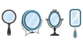 установленные зеркала Стоковая Фотография RF