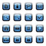установленные иконы применений vector сеть Стоковая Фотография RF