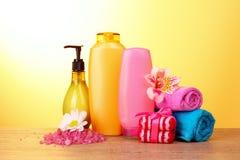 установленные косметики ванны Стоковая Фотография