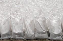установленные мешки белыми Стоковые Изображения RF
