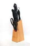 установленные ножницы ножей Стоковая Фотография