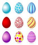установленные пасхальные яйца Стоковое фото RF