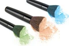 Установленные порошки цвета Стоковое Изображение RF