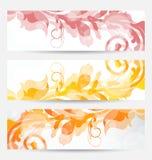 Установленные флористические шаблоны с изменять осенние цветы бесплатная иллюстрация