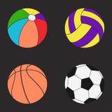 установленные шарики цвет Стоковое Изображение RF
