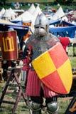 установленный рыцарь Стоковое Фото