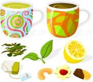 установленный чай 02 Стоковые Изображения