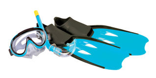 установленный snorkeling Стоковая Фотография RF
