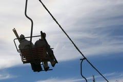 установьте катание на лыжах Стоковая Фотография RF