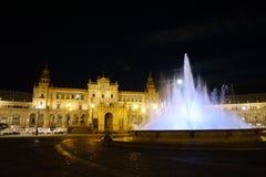 установьте touristic seville Испании квадратное Стоковые Изображения RF