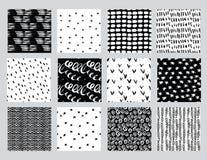 Установленная абстрактная картина чернил Стоковая Фотография RF