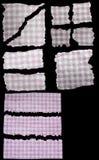 установленная бумага сорванной Стоковая Фотография RF